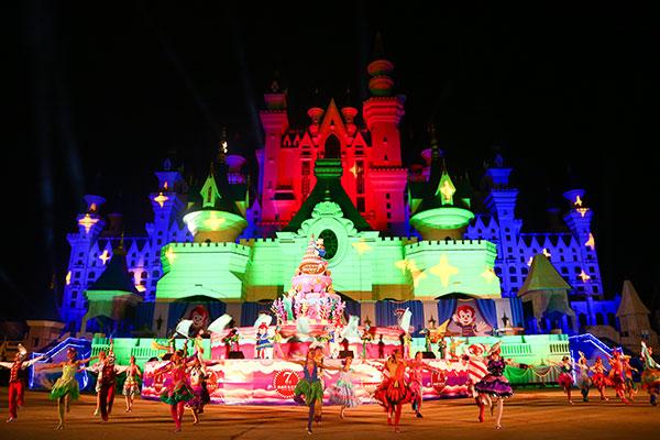 一场美轮美奂的舞蹈表演,一首滋润心田的动感之歌,都仿佛置身于童话世界一般。